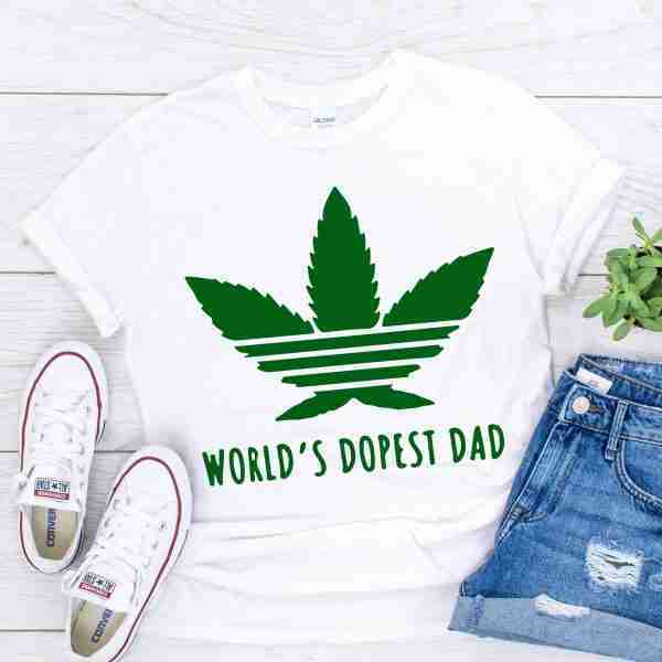 worlds dopest dad shirt
