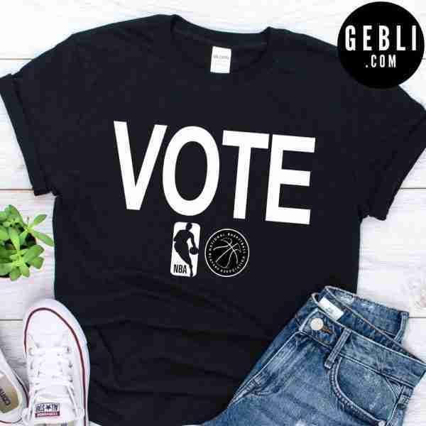 nba vote shirt