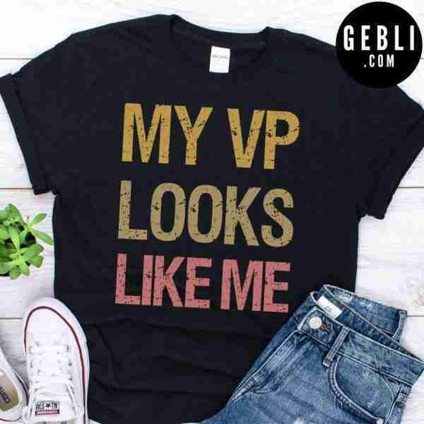 My VP looks like me vintage shirt