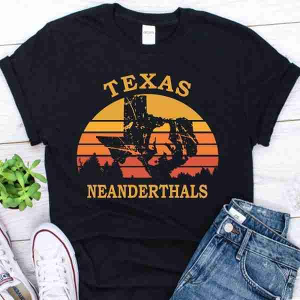 texas neanderthal Vintage shirt